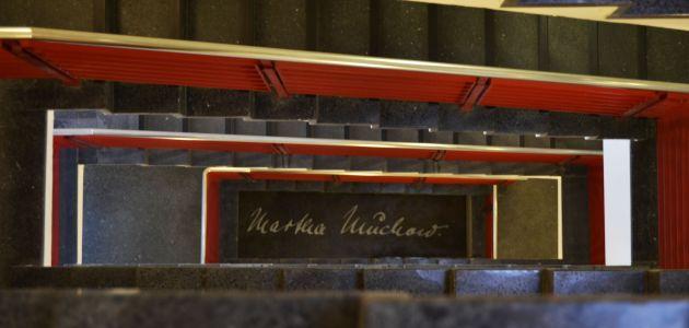 Treppenhaus Unterschrift Muchow