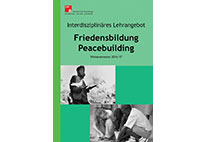 Umschlag Programmheft Friedensbildung