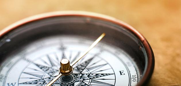 Bild von einem Kompass