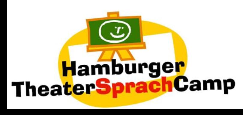 Logo TheaterSprachCamp 2017