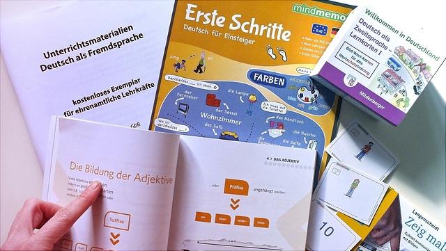 Materialien zum Deutsch lernen
