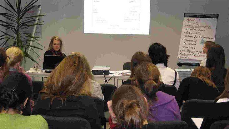 aktuelles - berufseinstieg mentoring  auftakt 2009