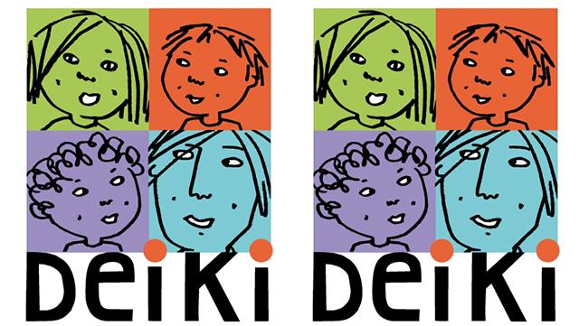 zwei Mal das Deiki Logo nebeneinander