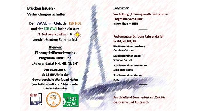 Plakat Alumni Sommerfest
