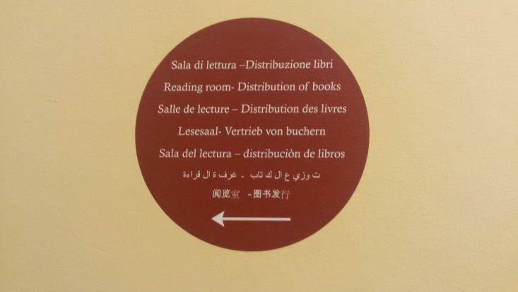 Lesesaal Bologna