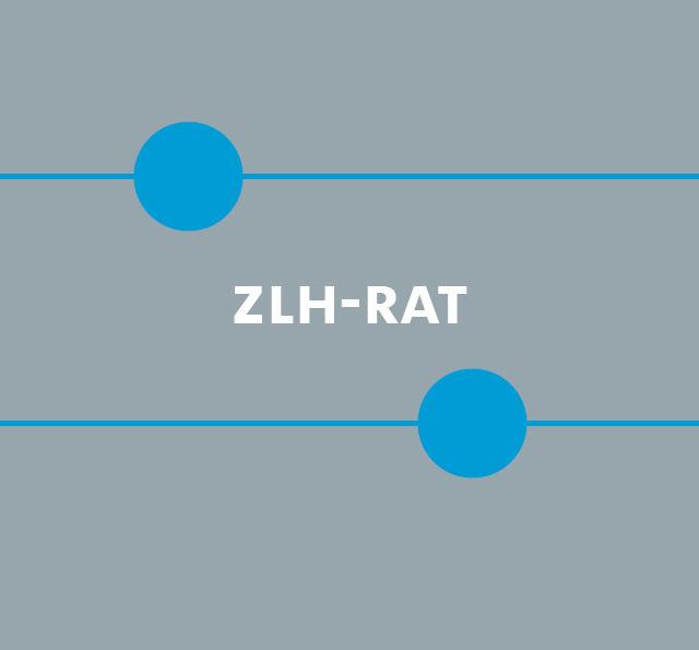 Schriftzug ZLH-Rat