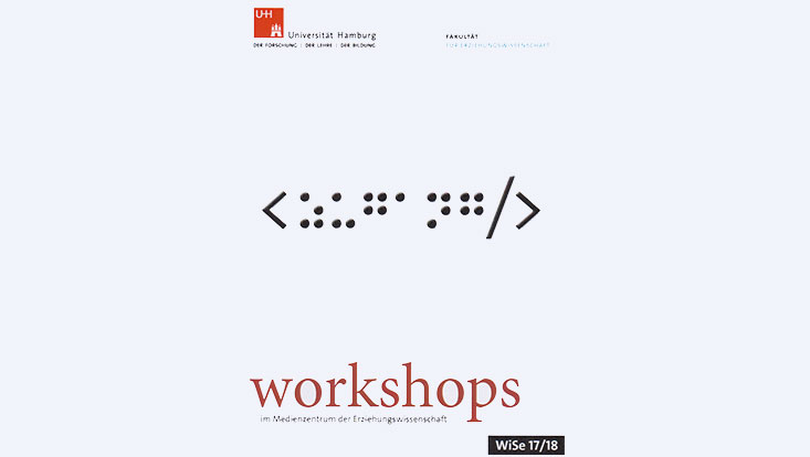 Cover Programmheft Workshops