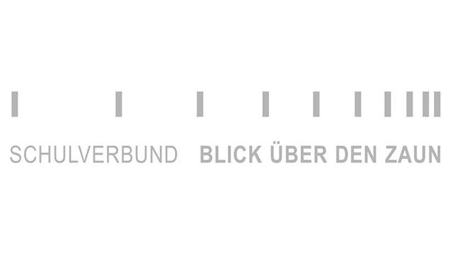 Logo des Schulverbunds Blick über den Zaun