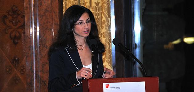 Forum Humanum Gastprofessorin Dr. Handan Aksünger