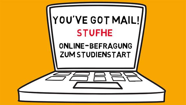 Posterausschnitt zur StuFHe-Umfrage zum Studienstart