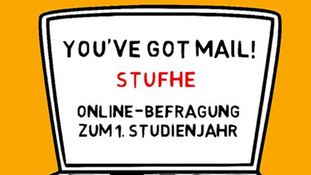Posterausschnitt zur StuFHe-Umfrage zum 1. Studienjahr