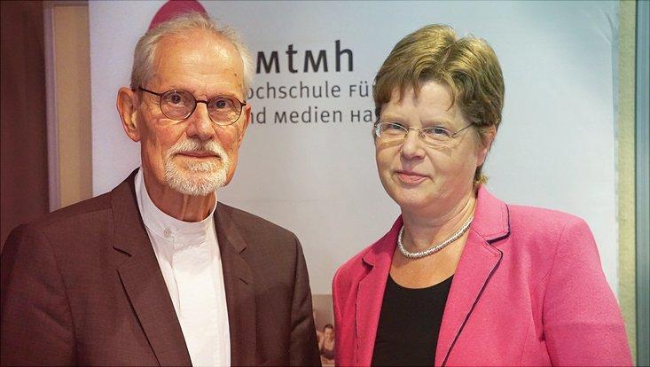 Professor Kaiser erhält die Ehrendoktorwürde der HMTM Hannover