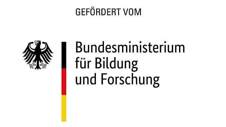 """Logo """"Gefördert vom BMBF"""""""
