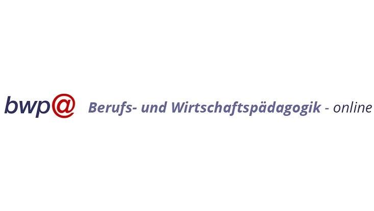 bwp@ - Berufs- und Wirtschaftspädagogik online