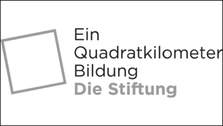 "Logo ""Ein Quadratkilometer Bildung"""