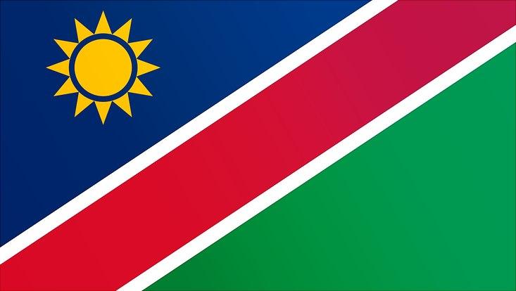 Landesflagge Namibia