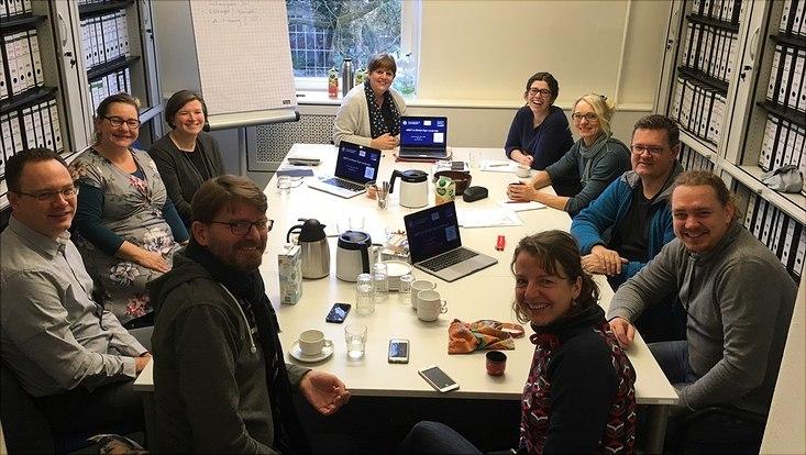 Gruppenfoto Lehrertreffen