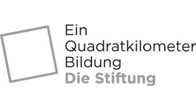 """Logo von """"Ein Quadratkilometer Bildung"""""""