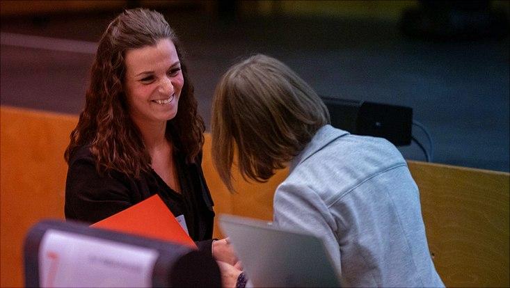 Francesca Muntoni wird mit dem Publikationspreis der Gesellschaft für Empirische Bildungsforschung ausgezeichnet.