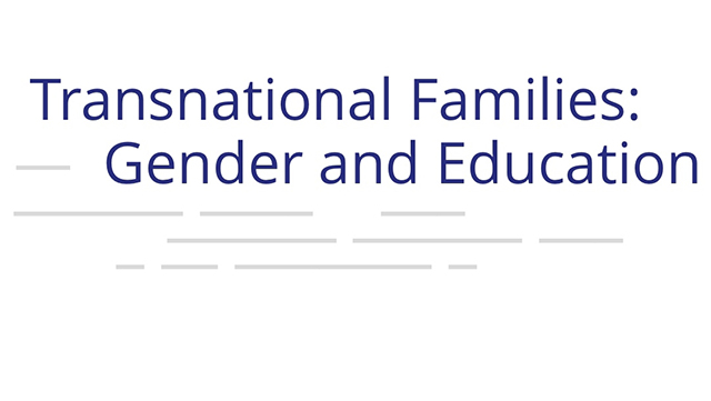 "Wortmarke für Projekt ""Transnational Families: Gender and Education"""