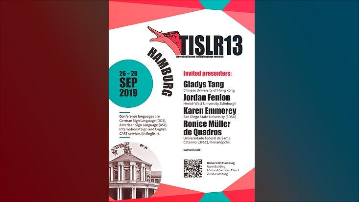 Plakat zum TISLR13