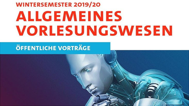 Cover des Programmheftes zum Allgemeinen Vorlesungswesen im Wintersemester 2019.