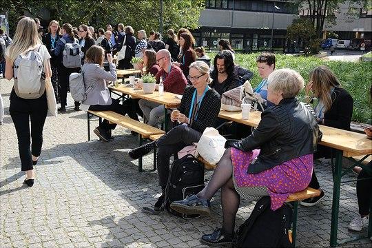Impressionen von der ECER-Konferenz in Hamburg.