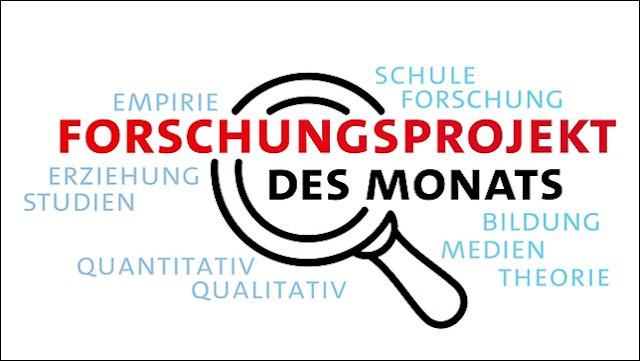 Logo Forschungsprojekt des Monats