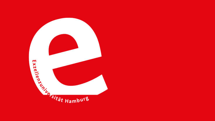 Logo der Exzellenz-Universität Hamburg.