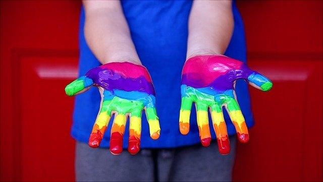 regenbogenhände