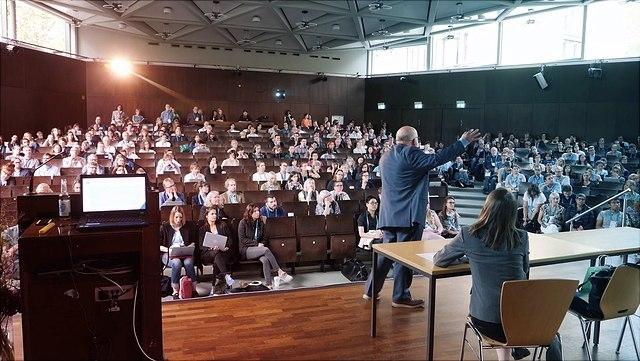 Dirk van Damme bei der Key Lecture