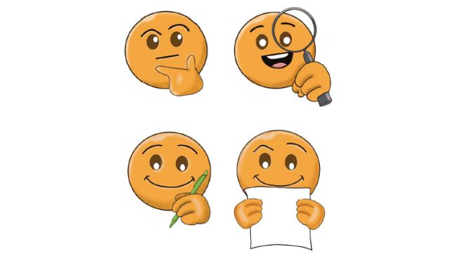 4 Smileys