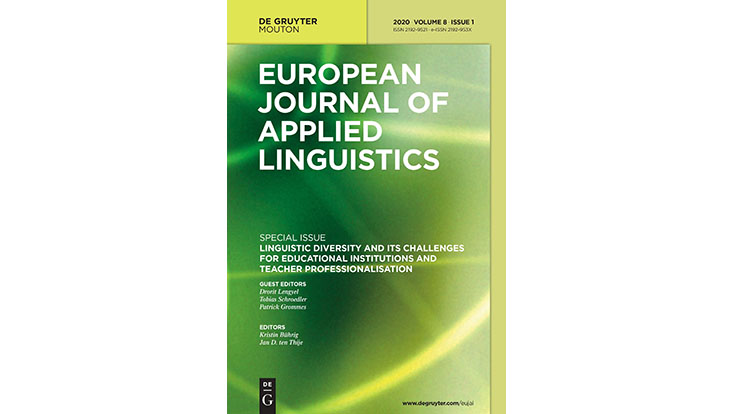 Cover der Sonderausgabe des European Journal of applied linguistics zu linguistic diversity