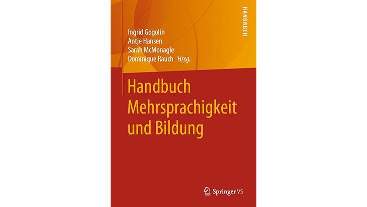 Cover des Handbuchs Mehrsprachigkeit und Bildung
