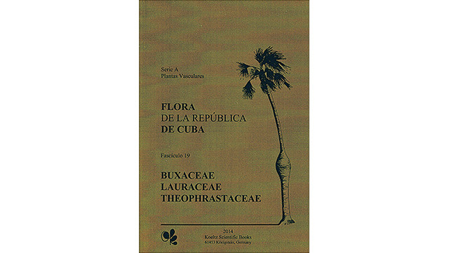 "Image of book cover ""Flora de la República de Cuba, vol. 19"""