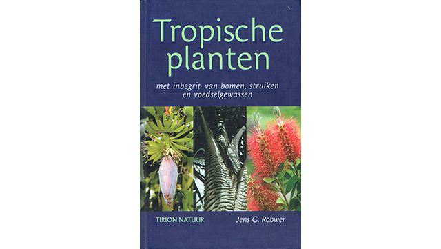 "Image of book cover ""Tropische Planten"""