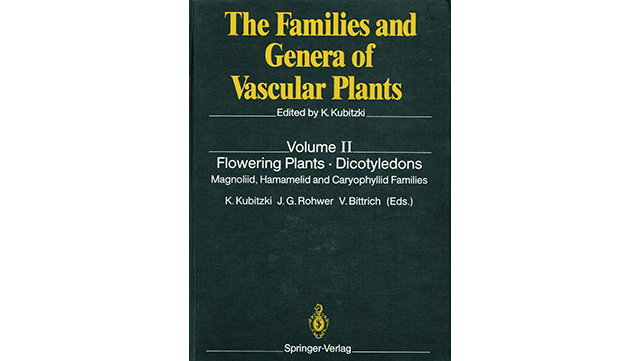 "Image of book cover ""The Families and Genera of Vascular Plants, vol. 2"""