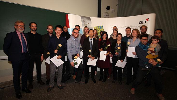Gruppenbild Graduates Promotion 2018