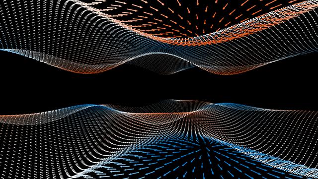 Gekrümmte Raumzeit für Elektronen