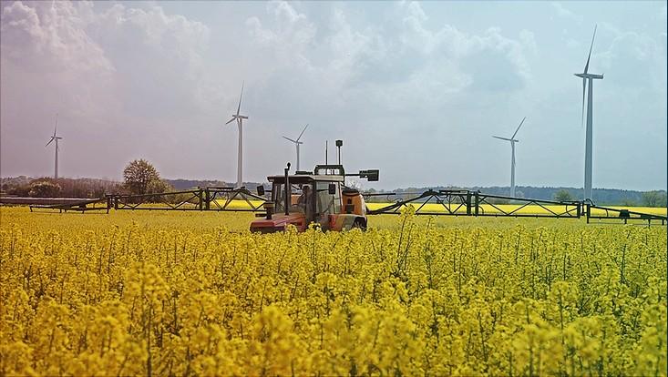 Symbolbild Energielandschaft Norddeutschland