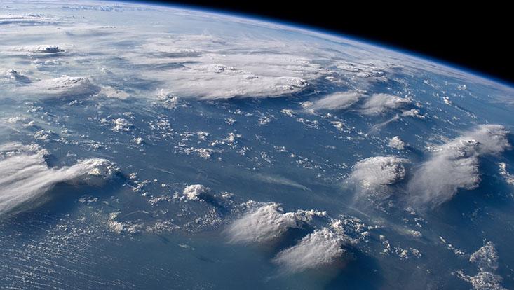 ISS40 Thunderheads