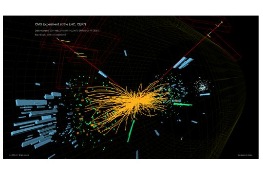 Z-Bosonen und Top-Quarks