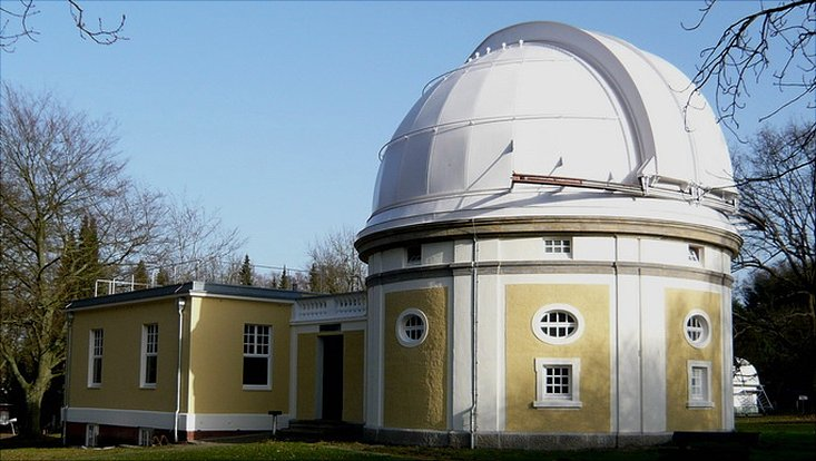 Telescope building at Hamburger Sternwarte