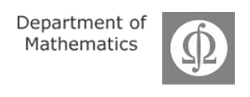 Logo Department of Mathematics UHH