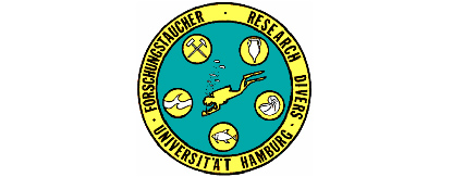 Logo Research Divers, Takes you bakc to the main page of the Research Divers.