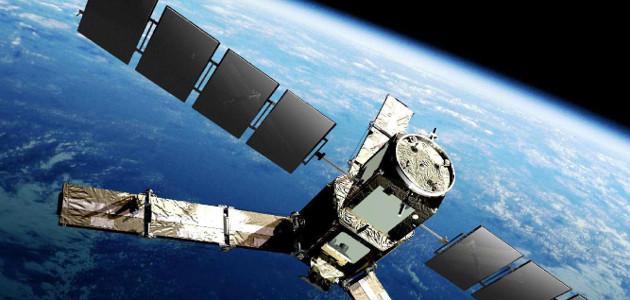The SMOS satellite.