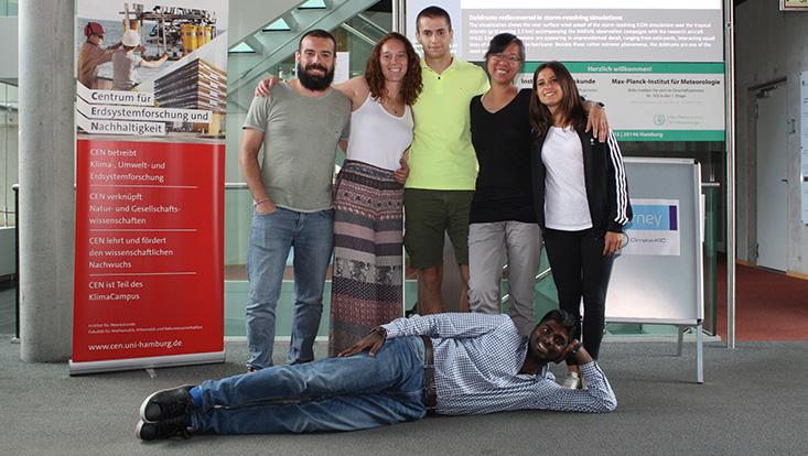 Die Teams der Climate KIC Summer School 2018 in Hamburg