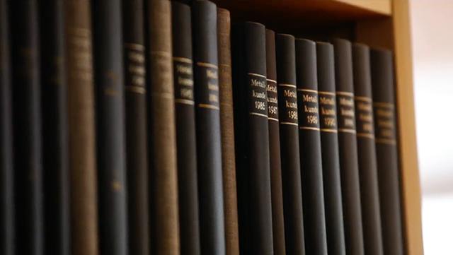Bücher im Regal
