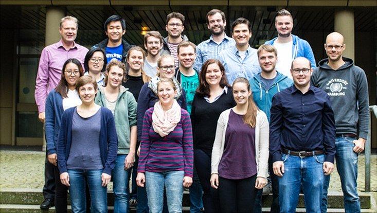 Gruppenfoto der AG Luinstra