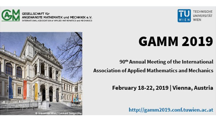 GAMM annual meeting 2019